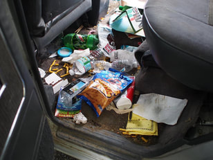 Excessive Trash in rear seats flooring